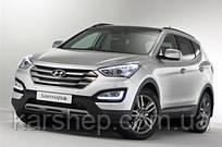 Брызговики  на автомобиль Hyundai Santa Fe 2012- (полный кт 4-шт), кт.