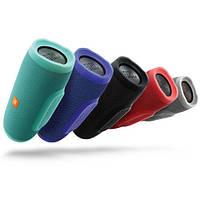 Портативная акустика, колонки charge 3 (E-3), bluetooth/USB/microSD, с влагозащитой