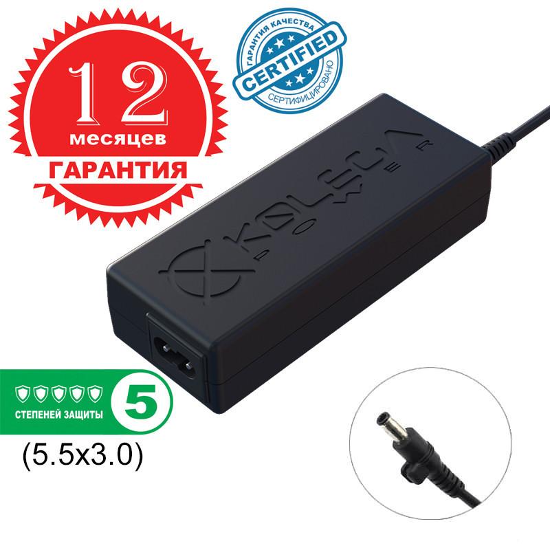 Блок живлення Kolega-Power для ноутбука Samsung 19V 4.74 A 90W 5.5x3.0 (Гарантія 12 міс)