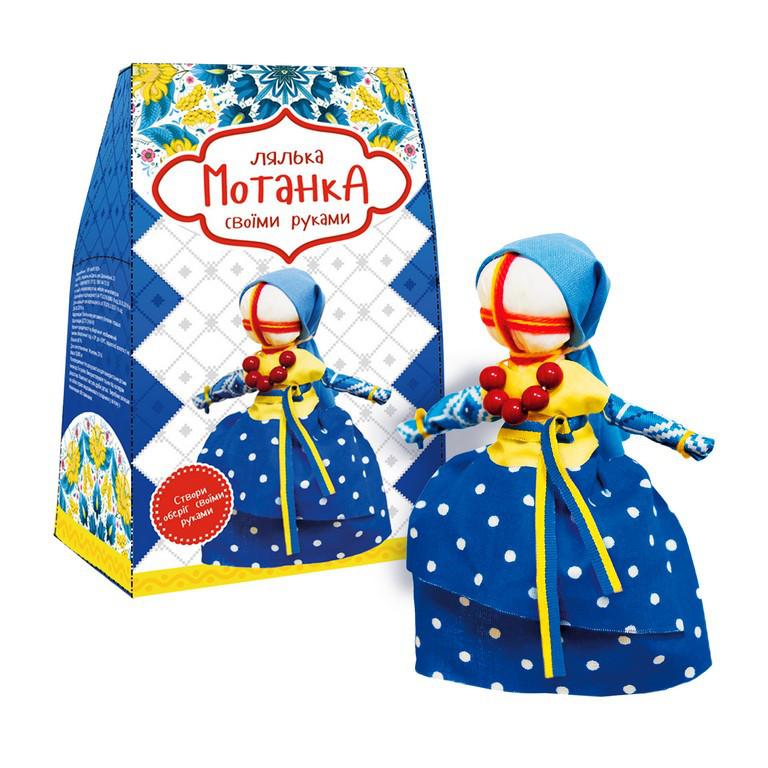 Творчість і рукоділля «Strateg» (4012) Мотанка своїми руками Україночка