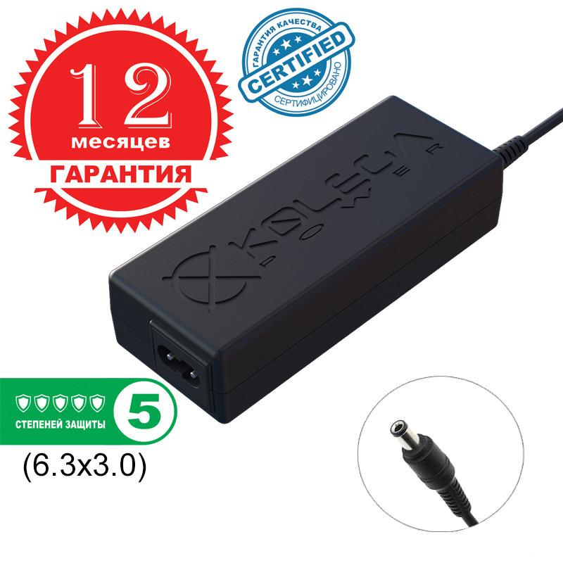 Блок живлення Kolega-Power для ноутбука Toshiba 15V 90W 6A 6.3x3.0 (Гарантія 12 міс)