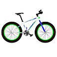 Фэтбайк Fatbike Велосипед 20 дюймов Profi EB20 POWER 1.0 S20.4 , черно-красный, фото 4