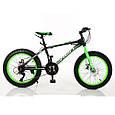 Фэтбайк Fatbike Велосипед 20 дюймов Profi EB20 POWER 1.0 S20.4 , черно-красный, фото 2