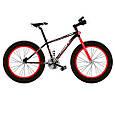 Фэтбайк Fatbike Велосипед 20 дюймов Profi EB20 POWER 1.0 S20.4 , черно-красный, фото 6