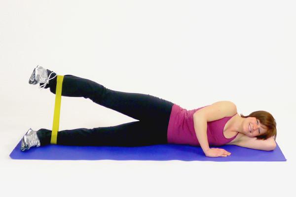 Упражнения с фитнесс-лентой