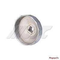 "Съемник масляного фильтра ""чашка"" 74мм/15граней (VW, AUDI) 1521 JTC"
