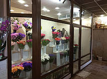 Холодильная камера для цветов витрина