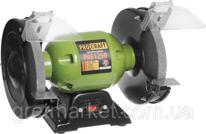 Точило электрическое PROCRAFT PAE 200/1250