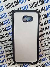 Чехол для 2D сублимации резиновый (TPU) на Samsung Galaxy A720 черный