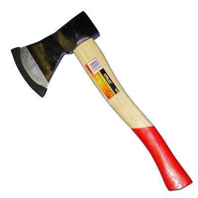 Топор с деревянной ручкой облегченный