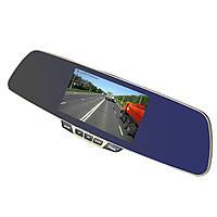 """☞Зеркало видеорегистратор 5"""" Pioneer Car H500 с углом обзора 170 и 140 градусов для автомобиля"""
