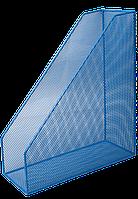 Лоток вертикальный BUROMAX металлический синий