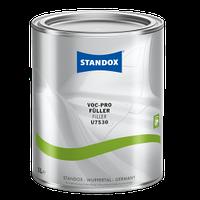Грунт-наполнитель STANDOX, черный, U7530 VOC Pro Füller 3,5л + отвердитель 1л + ускоритель сушки 1л