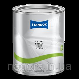 HS Грунт-наполнитель STANDOX, черный, U7530 VOC Pro Füller 3,5л + отвердитель 1л + ускоритель сушки 1л