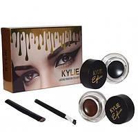 Гель-краска для бровей Kylie (Кайли) double color gel eyeliner