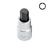 """Головка с насадкой HEX 8 mm  55mm 1/2""""  TOPTUL BCDA1608"""