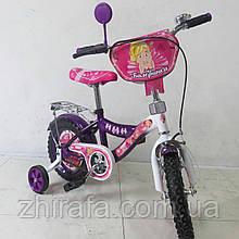 """Детский Велосипед TILLY """"Балеринка"""" 12'' , фиолетовый"""
