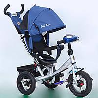 Велосипед 3-х колёс. 7700 В - 5230 Best Trike СИНИЙ ФАРА, фото 1