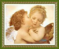 "Алмазная живопись ""Ангелы"" , фото 1"