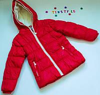 Куртка демисезон  на девочку рост 116-122 ,140 см