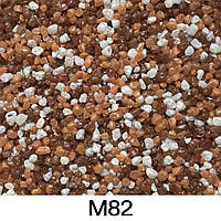 Мраморная штукатурка крошка для цоколя 25 кг #М82
