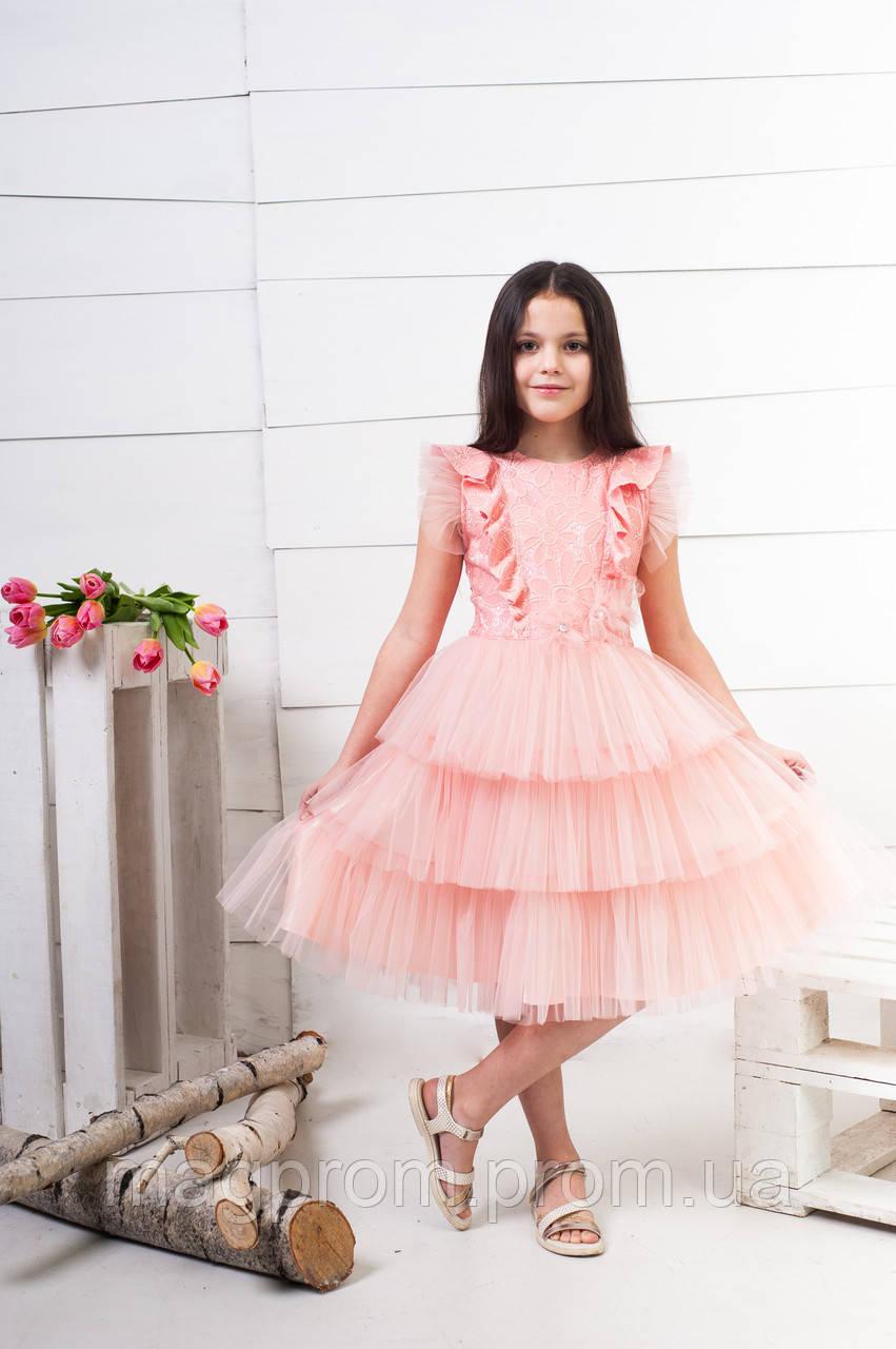 002f1e21850 Платье нарядное для девочки 5-10 лет