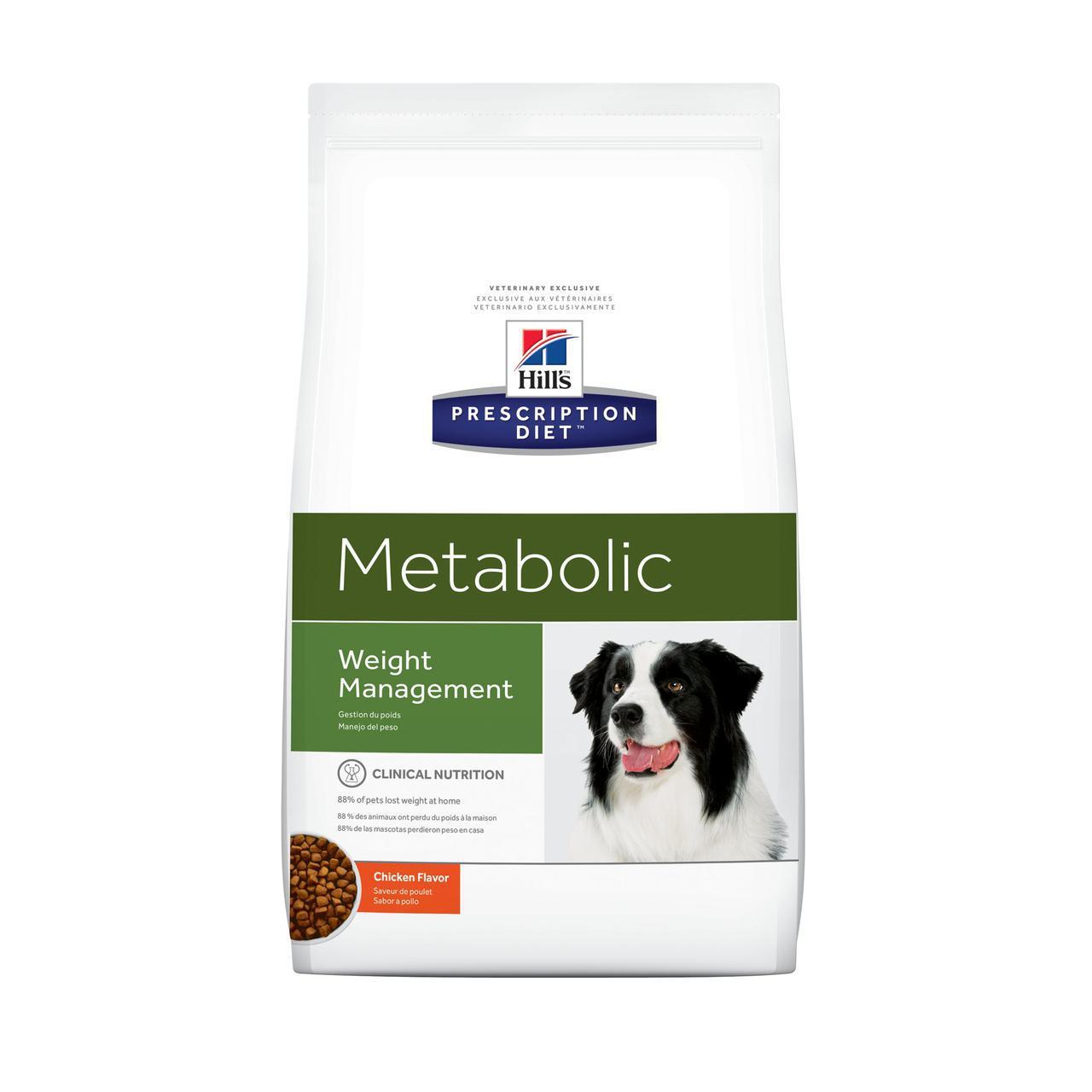 Hill's Prescription Diet Metabolic Canine лечебный корм для снижения и поддержания веса у собак 1,5КГ