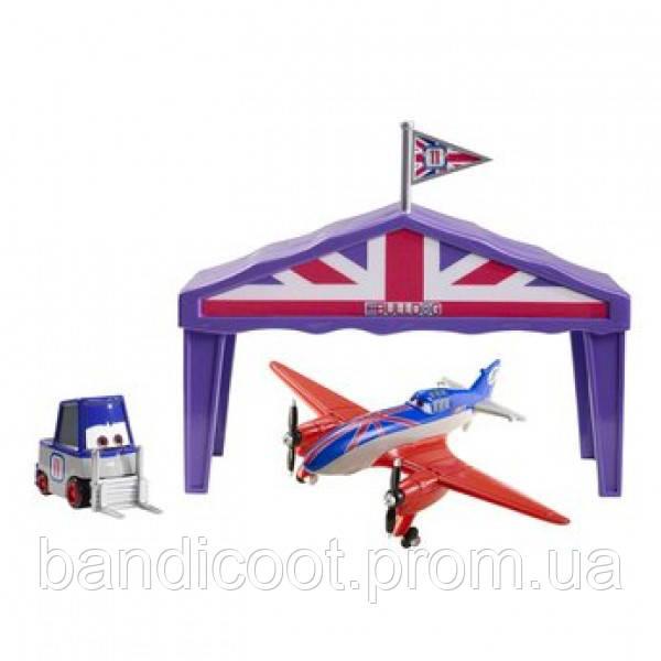 Самолет в Ангаре Бульдог, м/ф Самолётики Disney Planes Bulldog Giftset