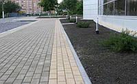 Тротуарная плитка Кирпич 4 см оливковый, ТМ Игуана