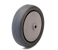 Колесо полипропилен/термопластичная резина, диаметр 160 мм, нагрузка 180 кг