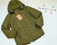 Куртка-парка демисезон  на мальчика  (рост 140-152см), фото 1