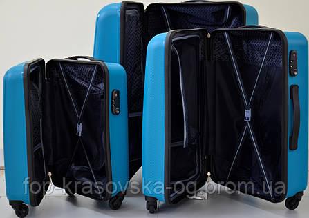 Сумка дорожная Travelite Uptown S 4 колеса, синяя, фото 2