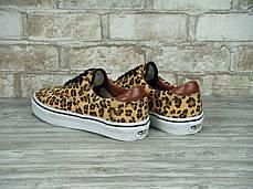 Женские кеды Vans ERA Brown Leopard,  Ванс Ера, фото 2