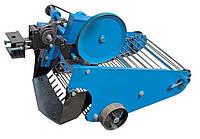 """Картофелекопатель транспортерный с активным ножом """"Премиум""""для мототрактора с гидравликой (Скаут)"""