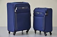 Чемодан дорожный Paklite Rom S 4 колеса,синяя