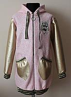 Детский кардиган/пальто/кофта для девочки 4-9 лет, фото 1