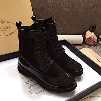 Ботинки на шнурках Prada