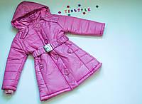 Пальто  на девочку  122