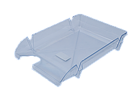 Лоток горизонтальный Компакт пластиковый прозрачный