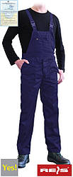 Рабочий полукомбинезон (спецодежда, униформа, роба) YES-B N