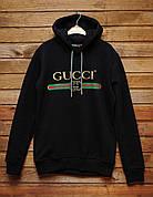 Мужская толстовка\худи Gucci Authentic Black Bootleg