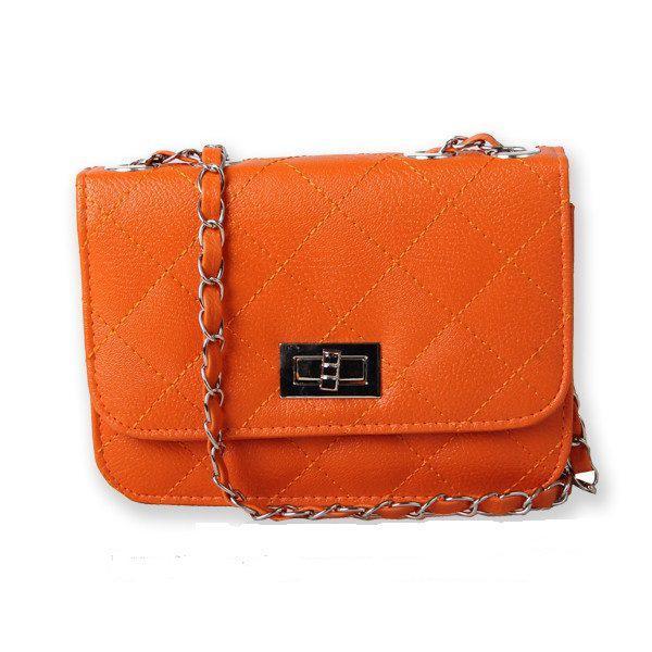 Сумка-клатч жіночий Multicolor orange (помаранчевий)
