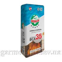 Клей для облицовки каминов Anserglob BCX 35, 25 кг