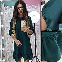 Женское красивое свободное платье (4 цвета)
