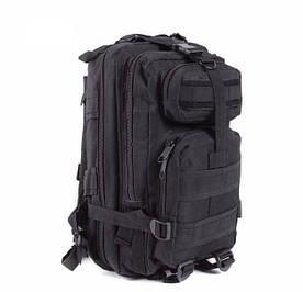 Тактический штурмовой рюкзак для туризма Abrams black