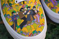 Женские кеды Vans ERA Beatles, Ванс Ера, фото 3