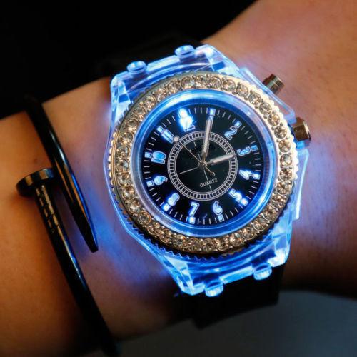 Часы Geneva White Light наручные белые