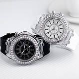 Часы Geneva White Light наручные белые, фото 5