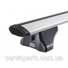Багажник на интегрированные рейлинги крыши Kia Carens 2013-