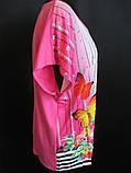 Женские летние футболки с цветами., фото 5